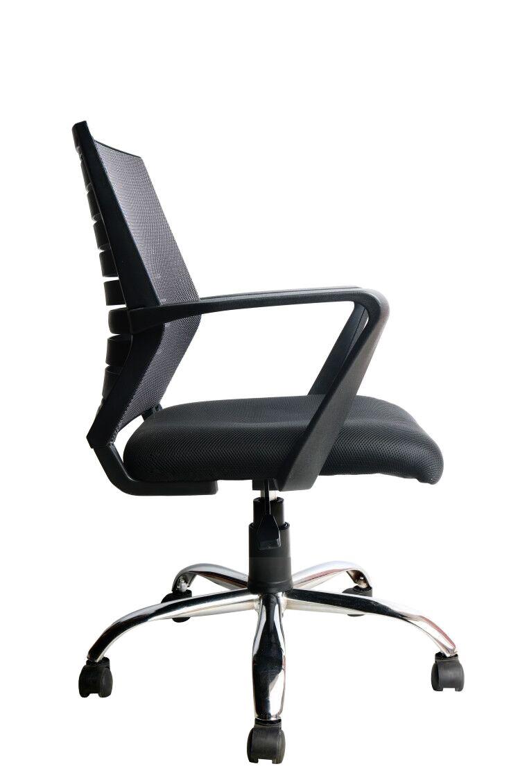 Cadeira Diretor Pelegrin PEL-8501 Tela Mesh Preta