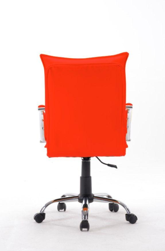 Cadeira Diretor em Couro PU Vermelha Pelegrin PEL-280