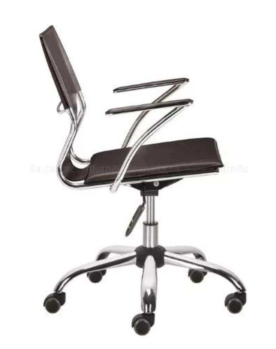 Cadeira Diretor Executiva em Couro PVC Marrom Pelegrin PEL-6011
