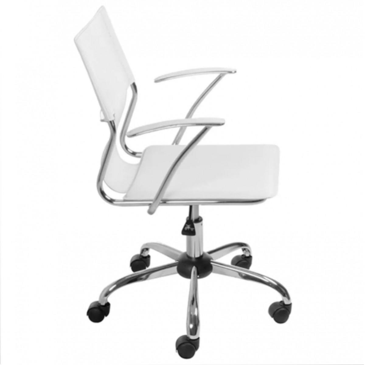 Cadeira Diretor Executiva em Couro PVC Pelegrin PEL-6011