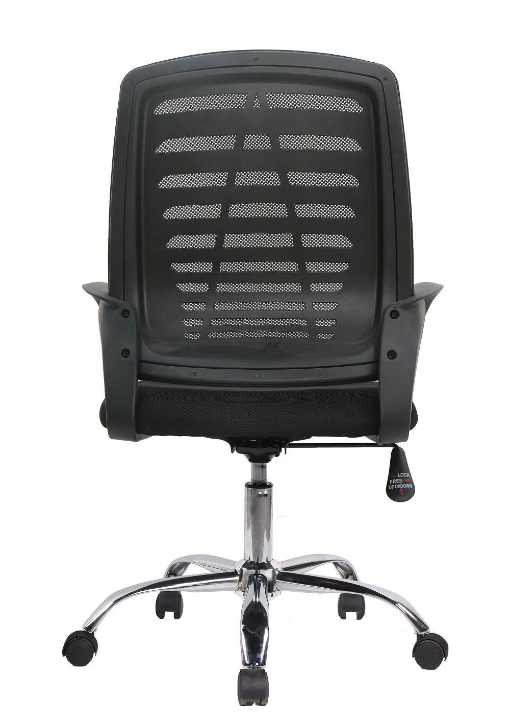 Cadeira Diretor Pelegrin PEL-1108 Tela Mesh Preta