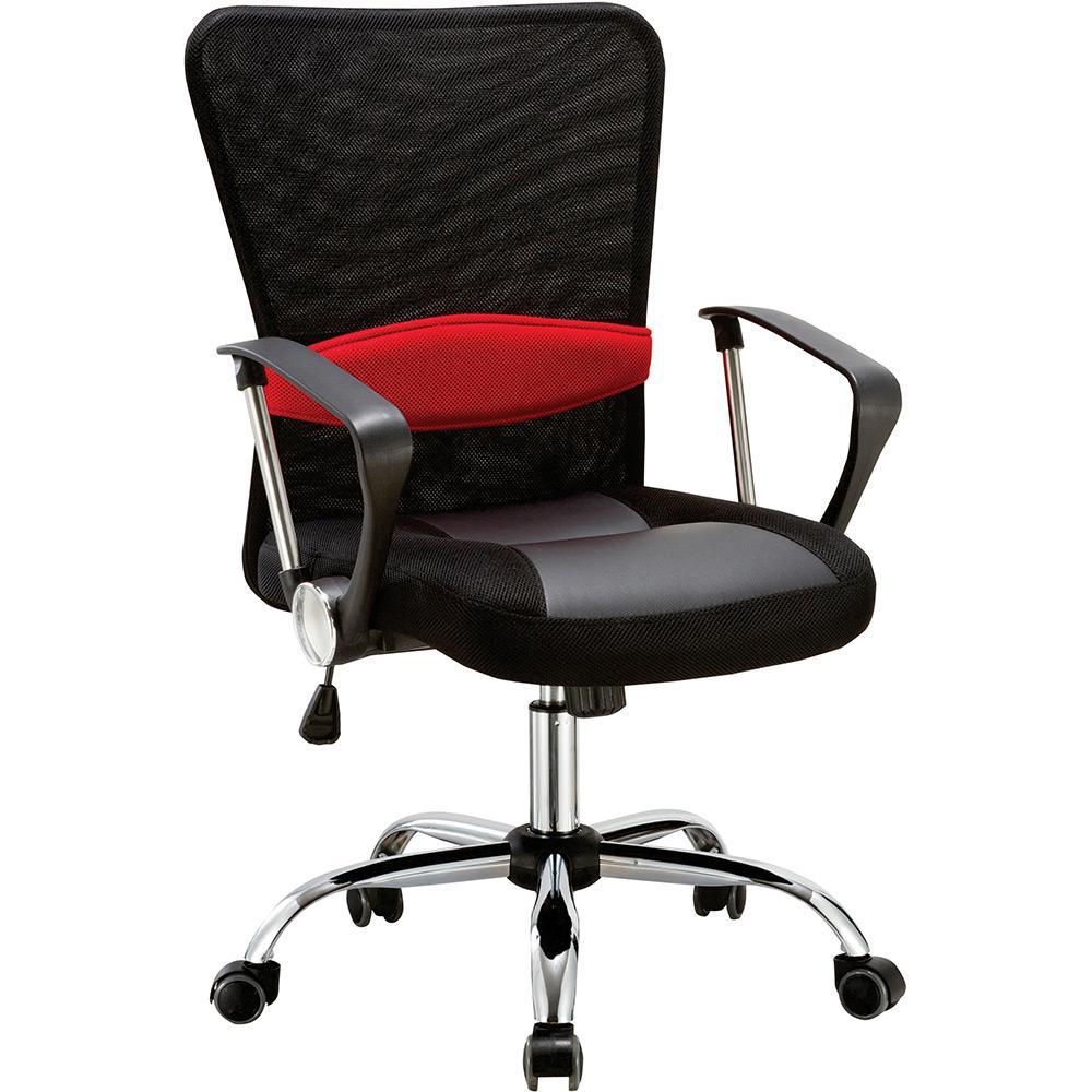 Cadeira Executiva Pelegrin PEL-502 Giratória com Regulagem de Altura a Gás Preto
