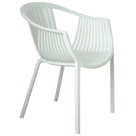 Cadeira Fixa Design Tatami Pelegrin PEL 1556 Branca