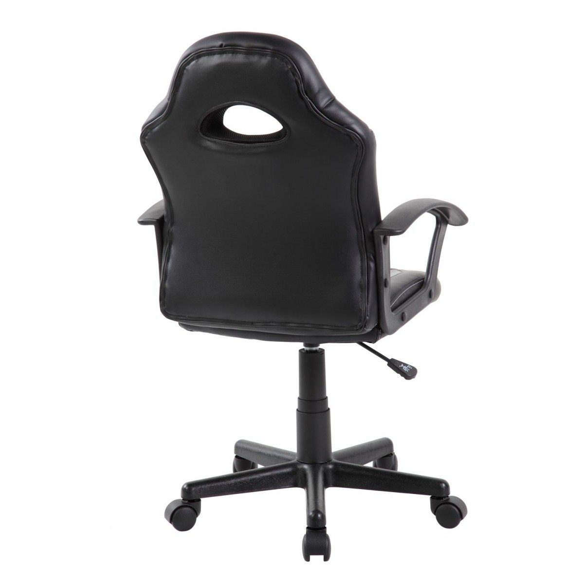 Cadeira Gamer Giratória Cinza e Preta Kids - at.home