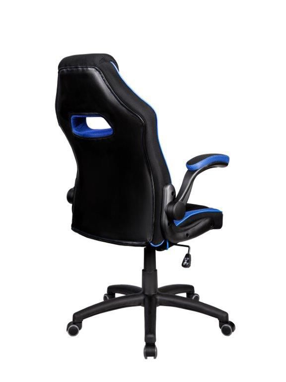 Cadeira Gamer Giratória Preta e Azul Epic - at.home
