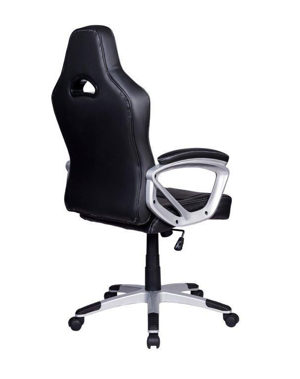 Cadeira Gamer Giratória Preta e Azul Legends - at.home