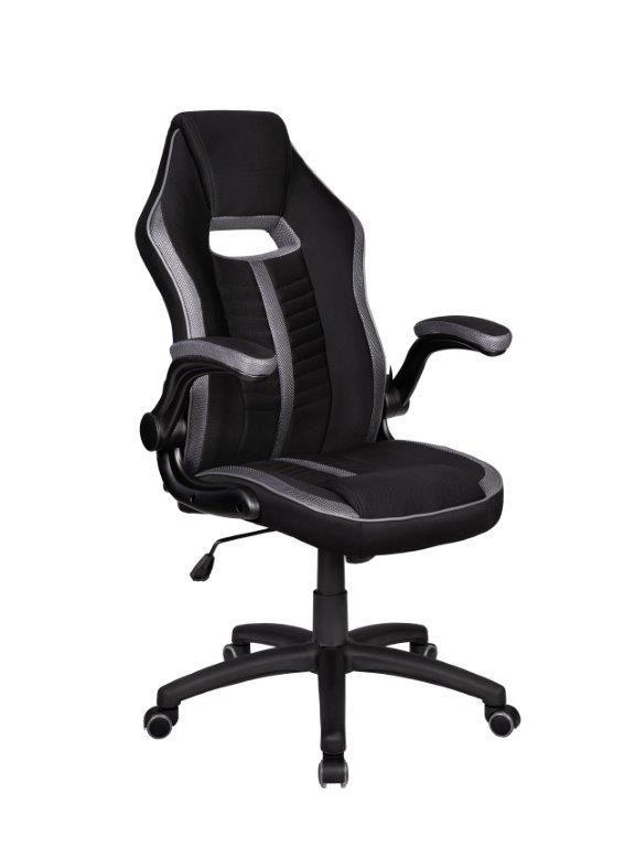 Cadeira Gamer Giratória Preta e Cinza Epic - at.home