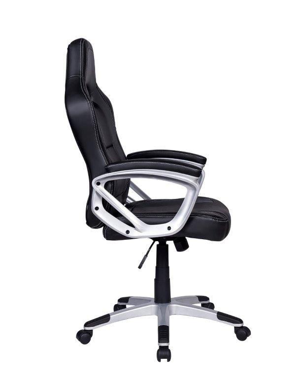 Cadeira Gamer Giratória Preta e Cinza Legends - at.home