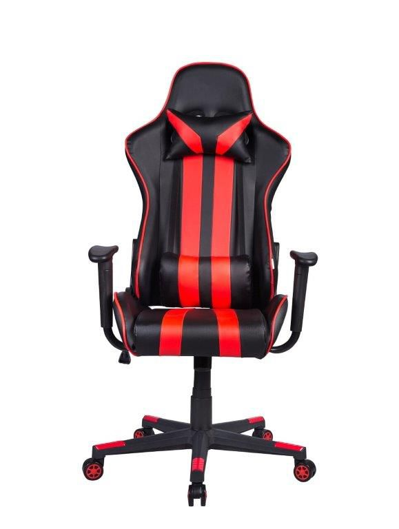 Cadeira Gamer Giratória Reclinável Preta e Vermelha Nite - at.home