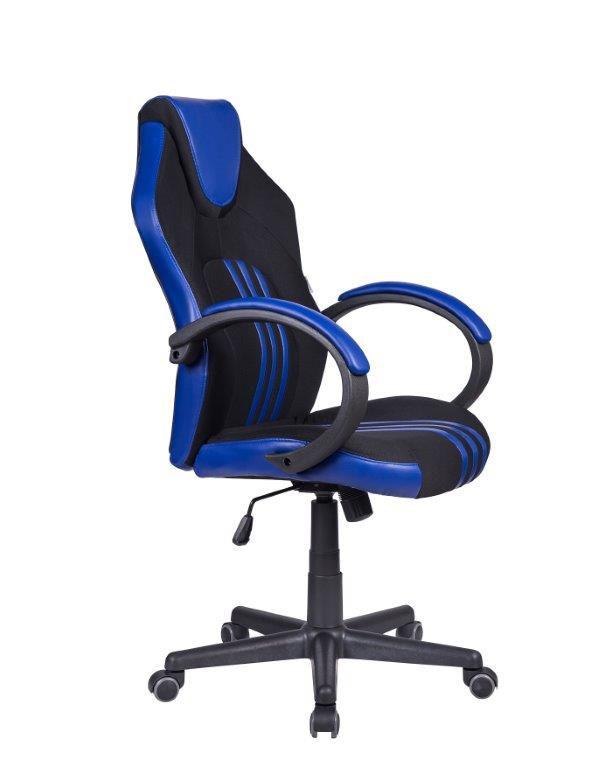 Cadeira Gamer Pelegrin PEL-3005 Preta e Azul
