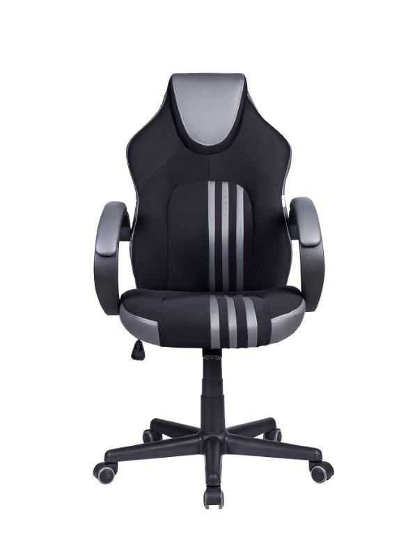 Cadeira Gamer Pelegrin PEL-3005 Preta e Cinza