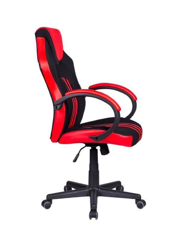 Cadeira Gamer Pelegrin PEL-3005 Preta e Vermelha