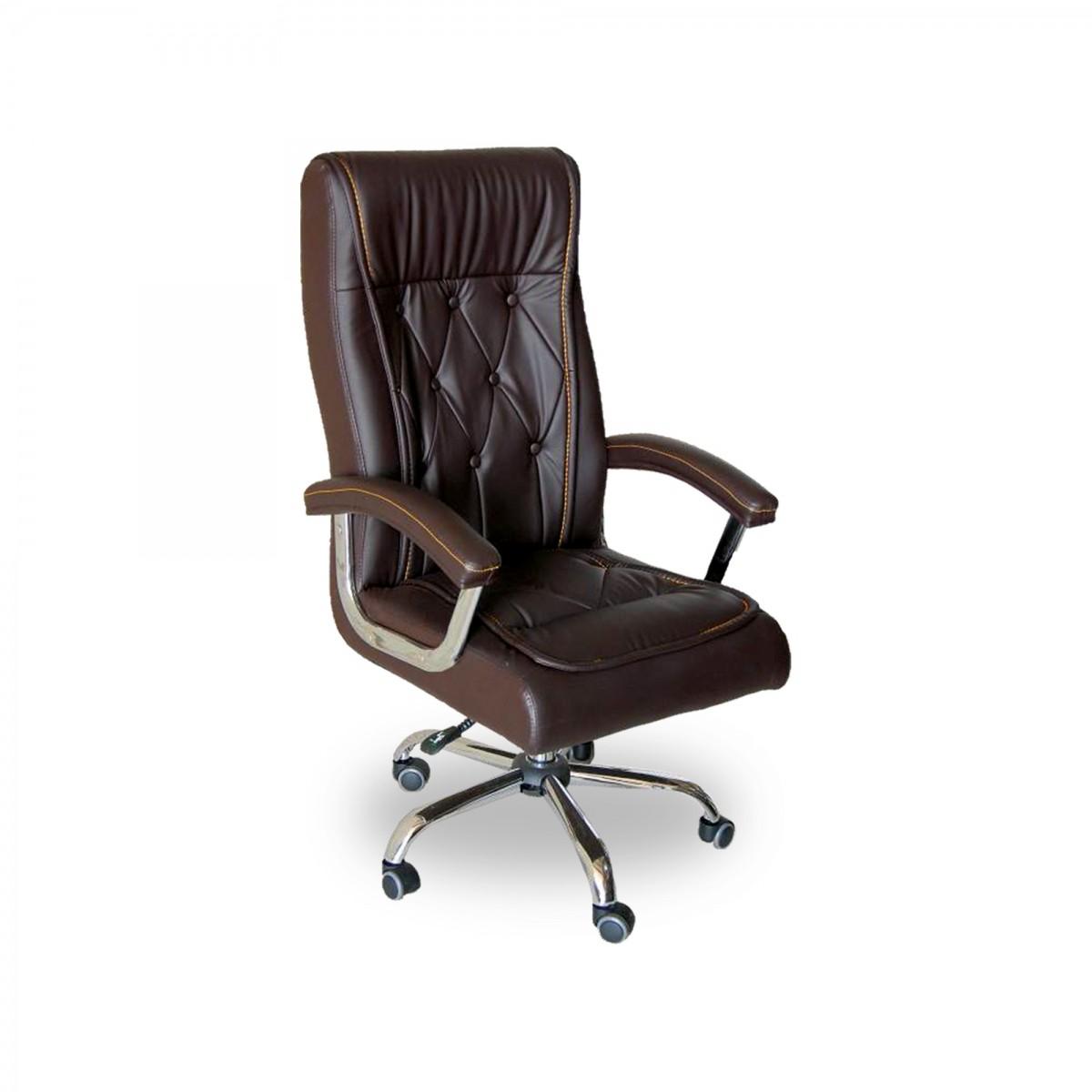 Cadeira Presidente em Couro PU Pelegrin PEL-8040