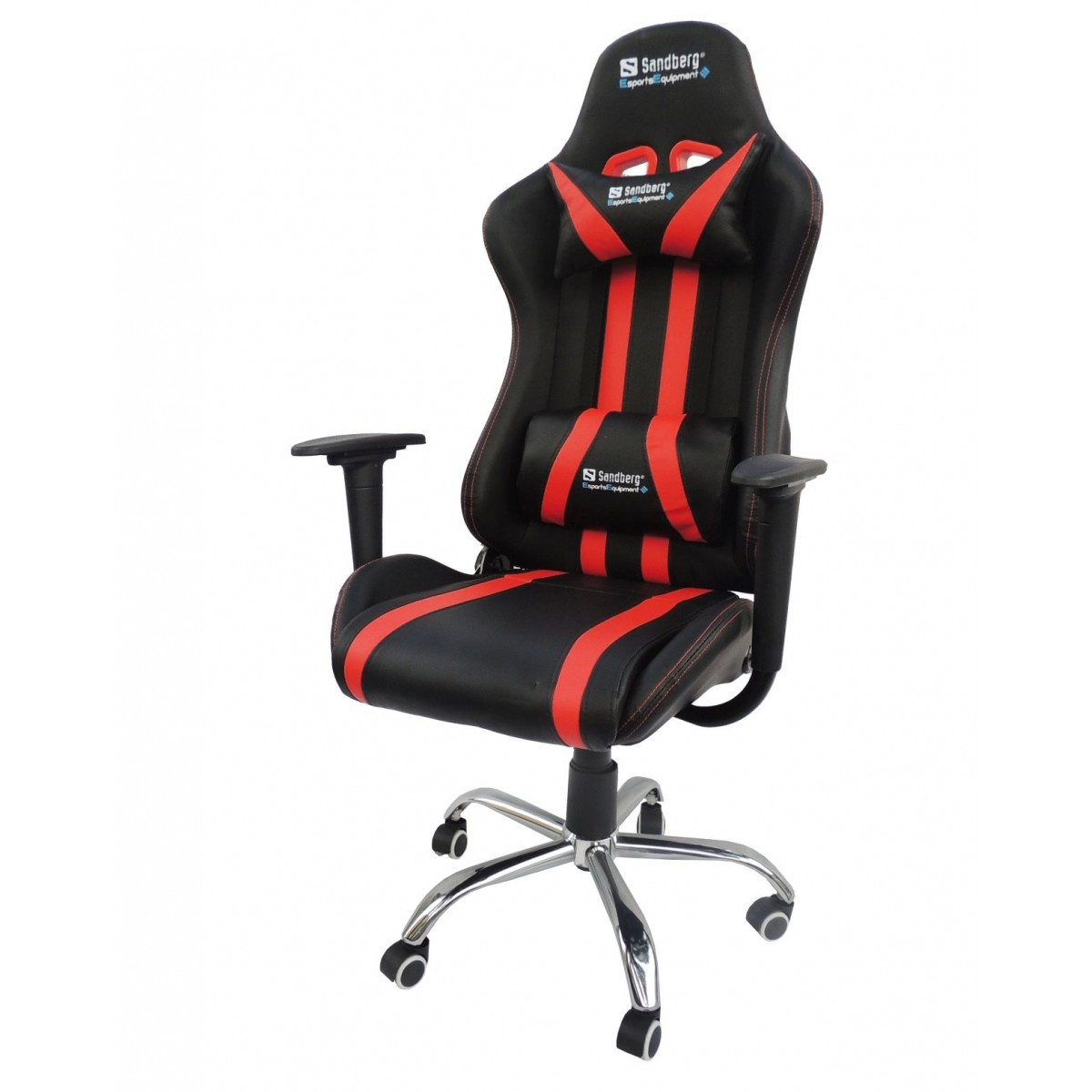 Cadeira Presidente Gamer Racer Em Couro PU Pelegrin PEL-560