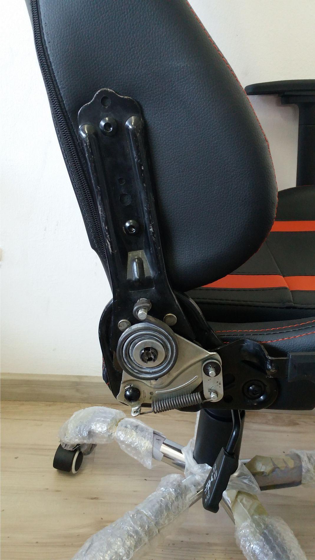 Cadeira Presidente Outlet Gamer Racer Em Couro PU Pelegrin PEL-560