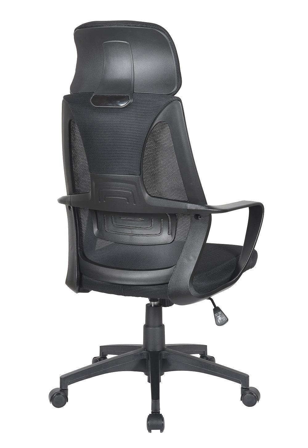 Cadeira Presidente Pelegrin PEL-0289 Tela Mesh Preta