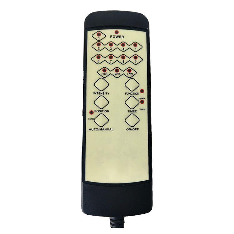 Cadeira Presidente Pelegrin PEL-3128 Dispositivo de Massagem Couro PU Preta