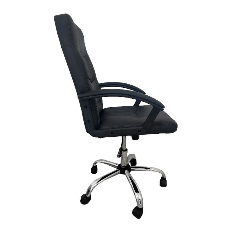 Cadeira Presidente Pelegrin PEL-3928 Dispositivo de Massagem Couro PU Preta