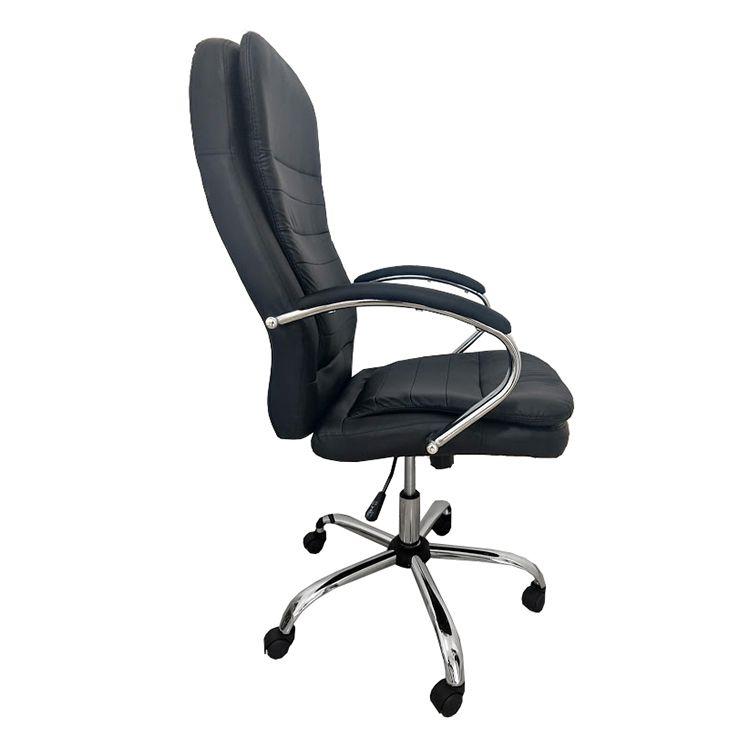 Cadeira Presidente Pelegrin PEL-8128 Dispositivo de Massagem Couro PU Preta
