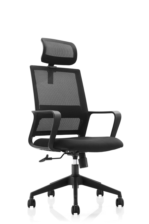 Cadeira Presidente Pelegrin Premium PEL-A106 Tela Mesh Preta