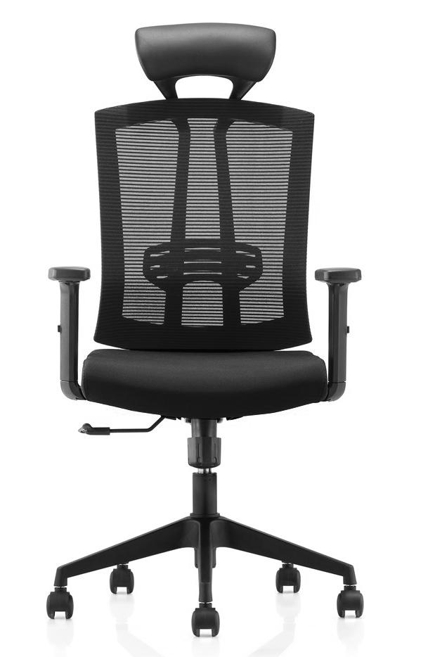 Cadeira Presidente Pelegrin Premium PEL-A109 Tela Mesh Preta