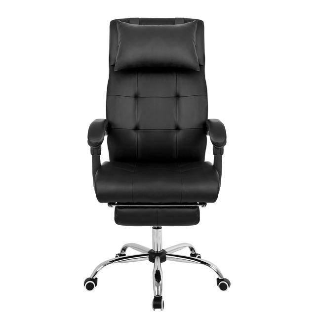 Cadeira Presidente Reclinável em Couro PU Pelegrin PEL-3022