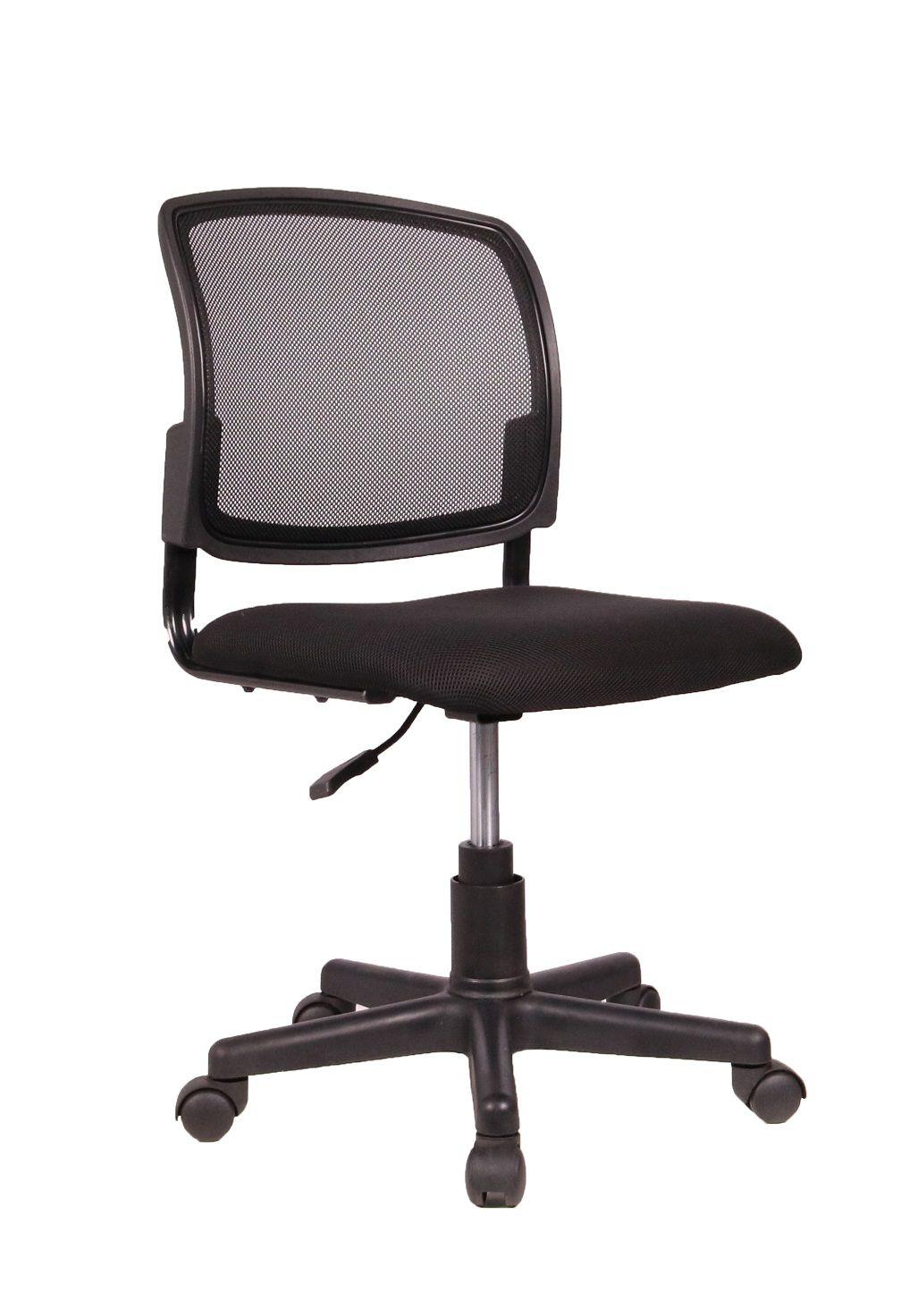 Cadeira Secretária Pelegrin PEL-6520 Tela Mesh Preta