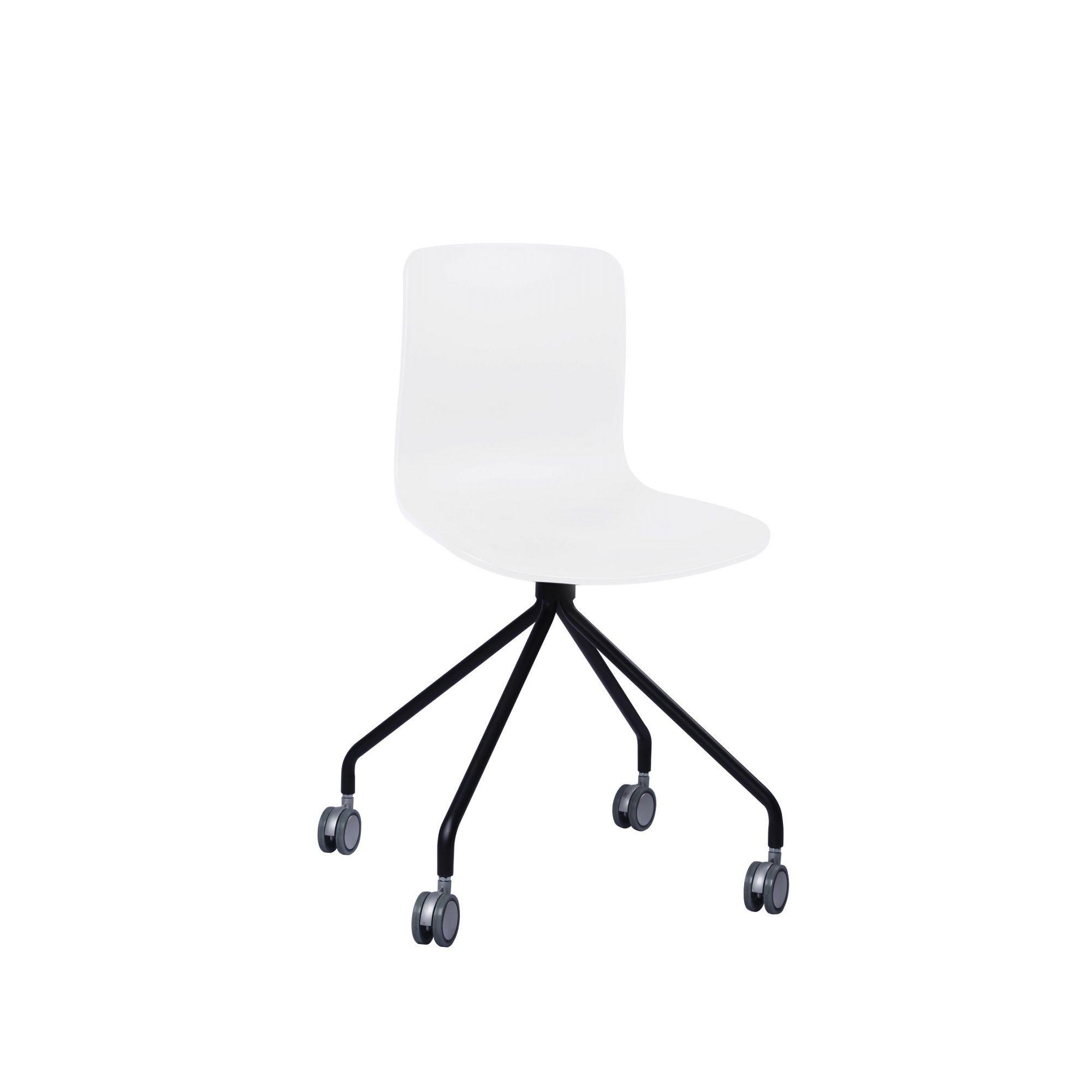 Cadeira Secretária Pelegrin PEL-X810 Branca