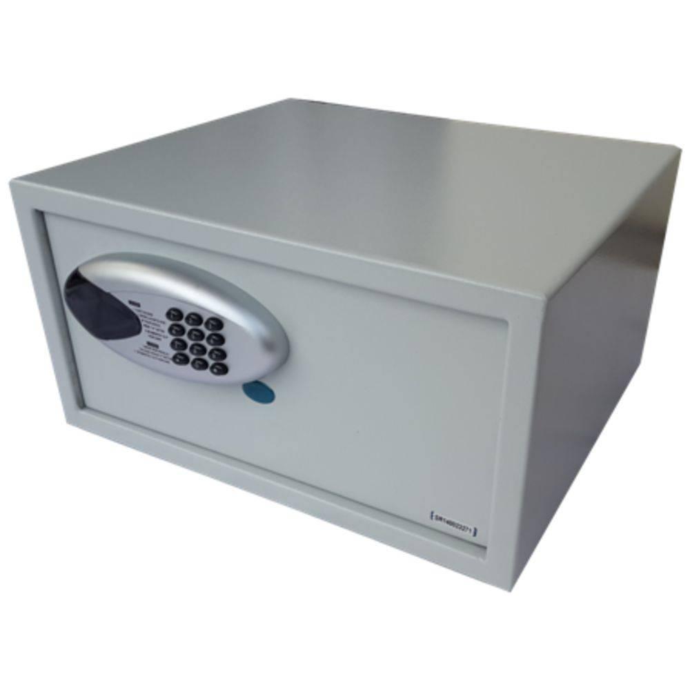 Cofre Eletrônico Digital Grande (23x44x38cm) BH-23DEB Cabe Notebook
