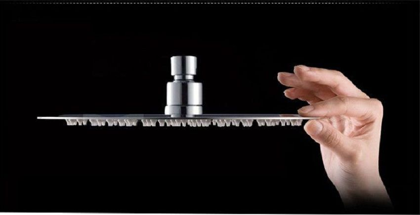 Ducha de Teto Ultra Slim com Misturador Monocomando Pelegrin P-066