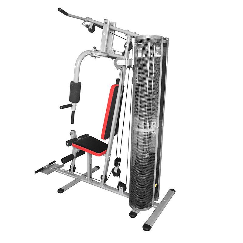 Estação de Musculação Multifuncional Pelegrin PEL-50KG 8 em 1