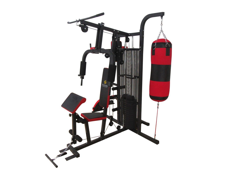 Estação de Musculação Pelegrin PEL-FIT30 12 em 1 com 68kg