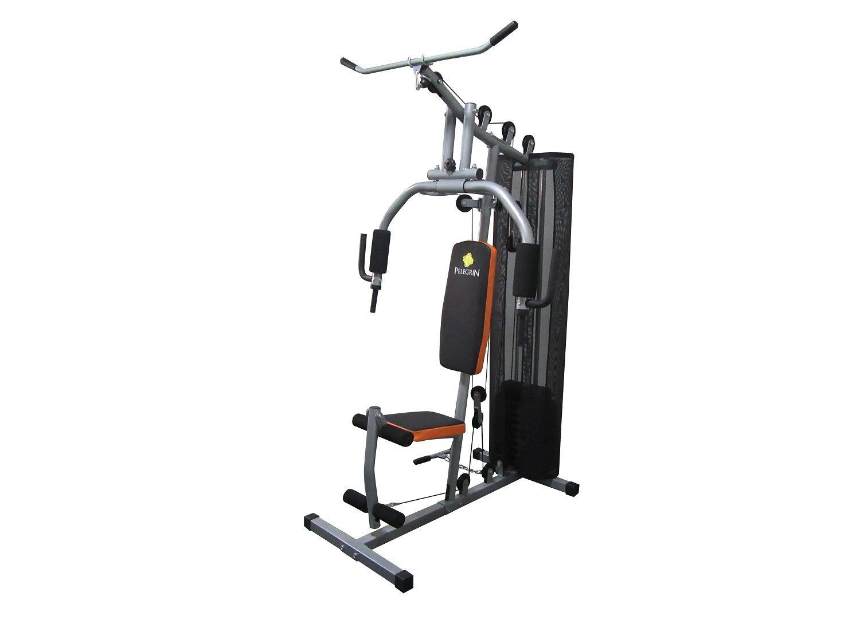 Estação de Musculação Pelegrin PEL-FIT33 8 em 1 com 45kg