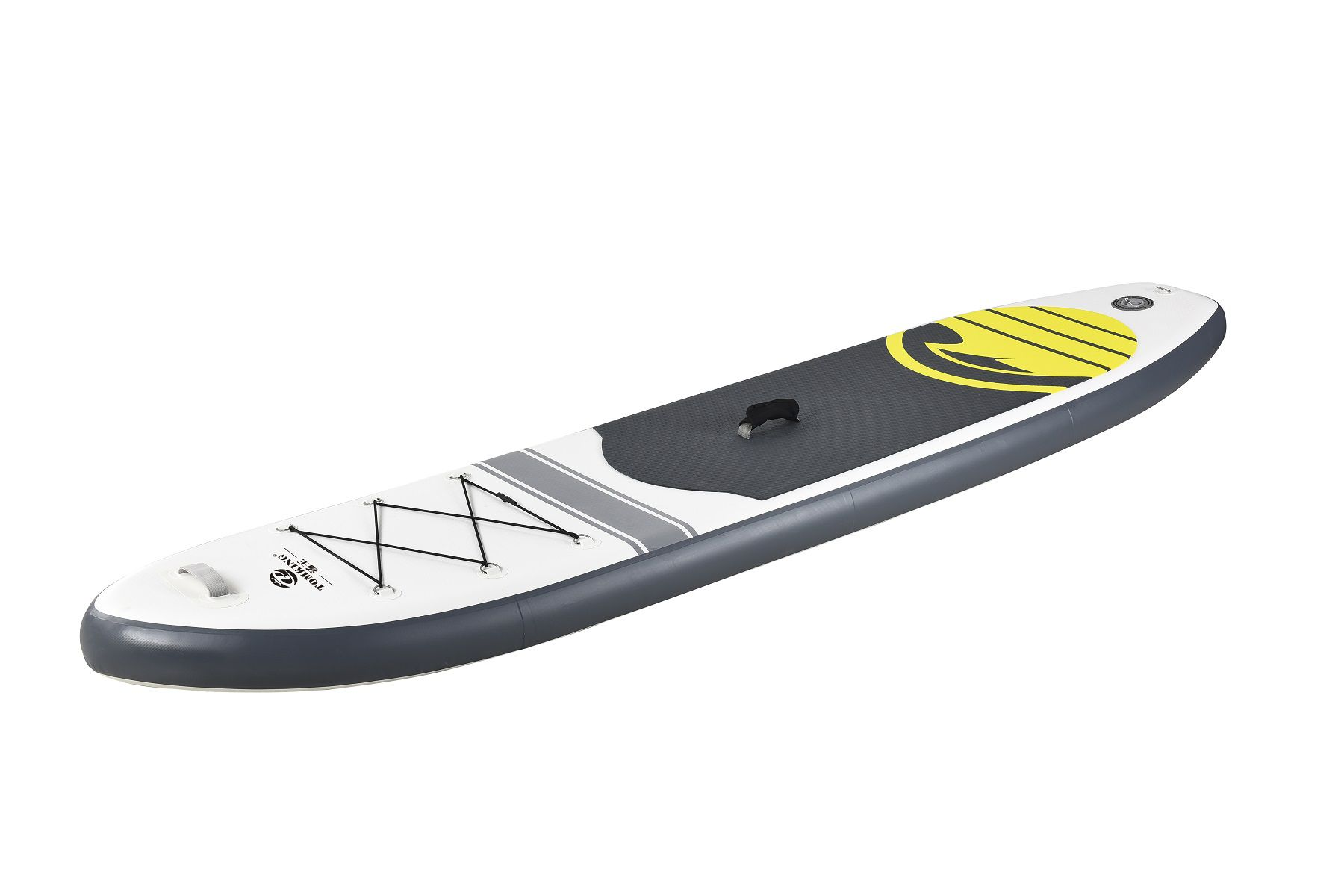 Kit Stand Up Paddle Pelegrin PEL-10FT Inflável Branca e Cinza