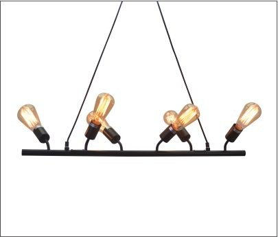 Lustre Bar Lights Retro em Metal Pelegrin PEL-053