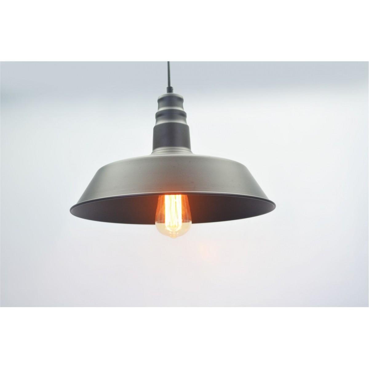 Lustre Pendente Retro Industrial I Metal Pelegrin PEL-035
