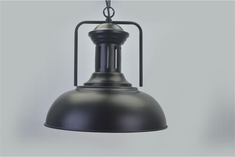 Lustre Pendente Retro Industrial IX Metal Pelegrin PEL-051