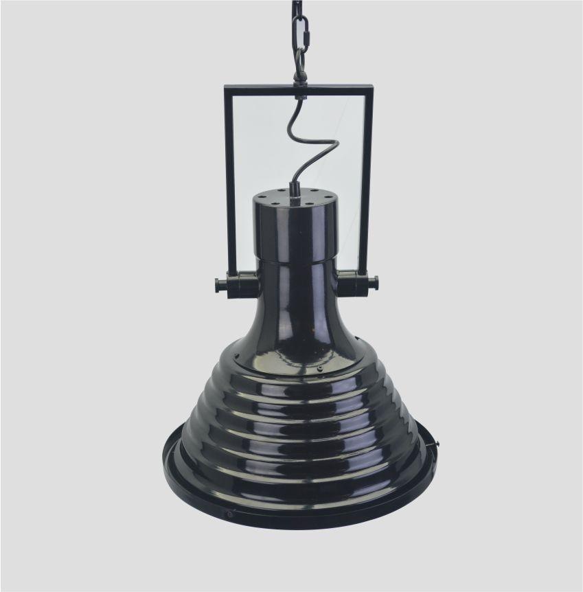 Lustre Pendente Retro Industrial VI Metal Pelegrin PEL-047