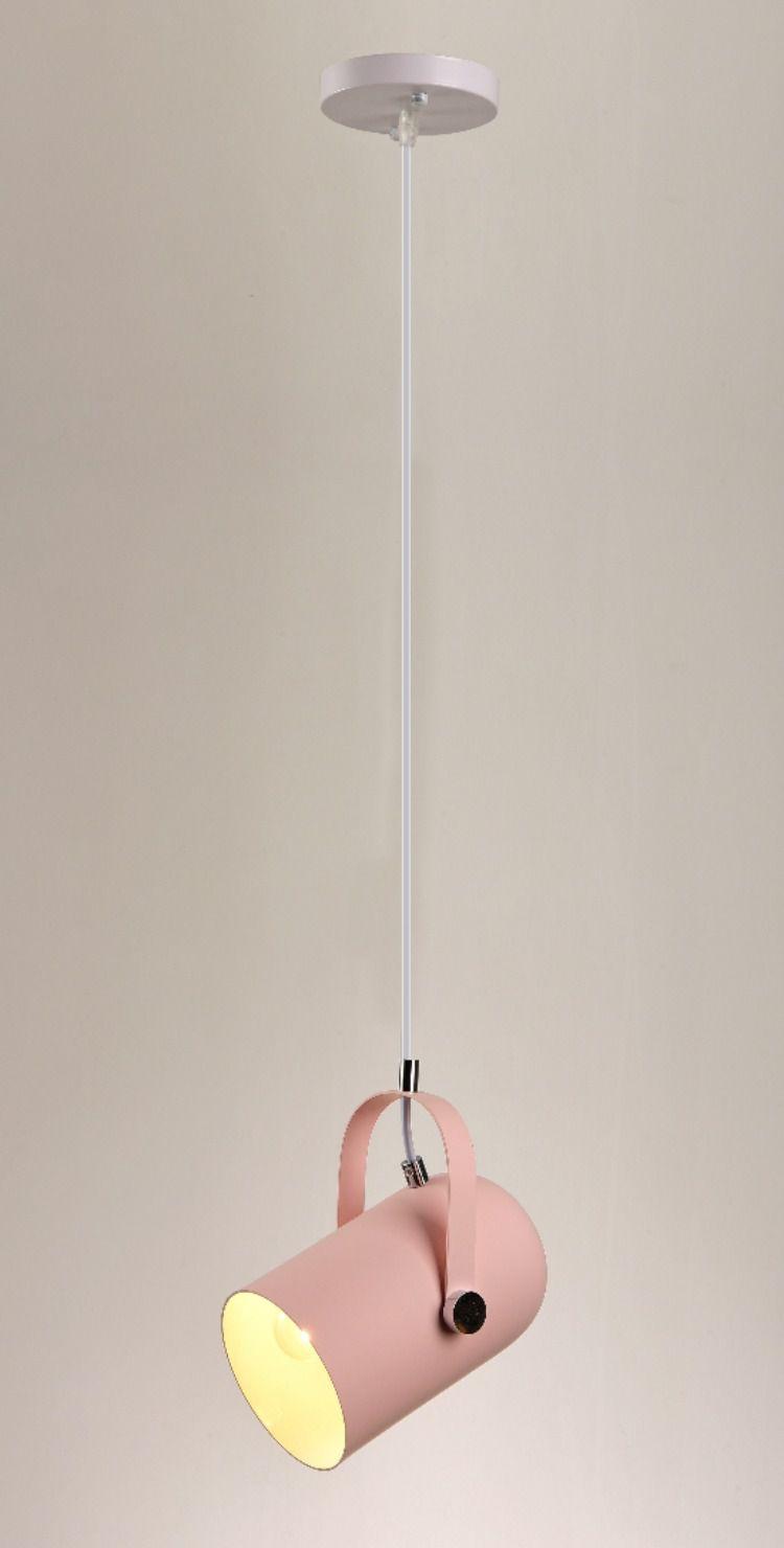 Lustre Pendente Stage Pelegrin PEL-065 Metal Rosa