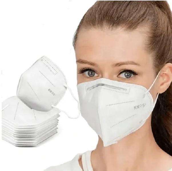 Máscara Descartável de Proteção Respiratória N95 - 100 Unidades