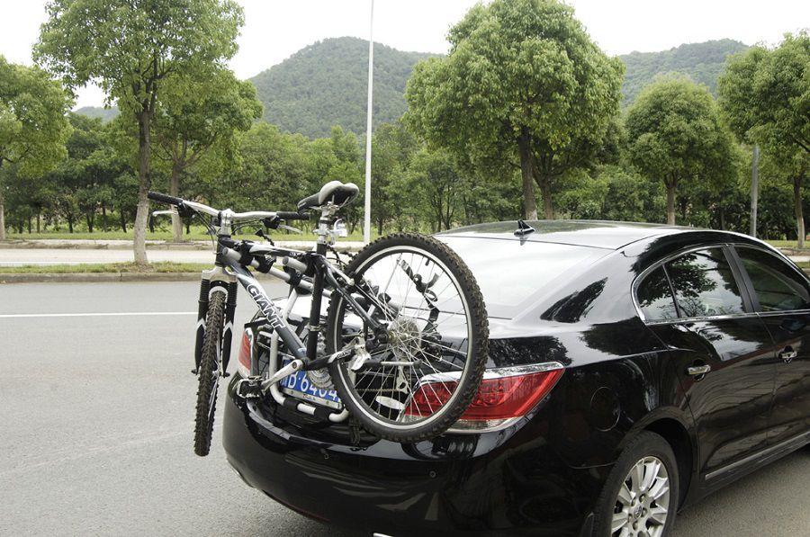 Suporte Bike Transbike Pelegrin PEL-004S para 3 Bicicletas em Aço Preto