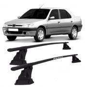 Rack Eqmax Aço Kit 014 Peugeot 306 Sedan 4P 1998/2001
