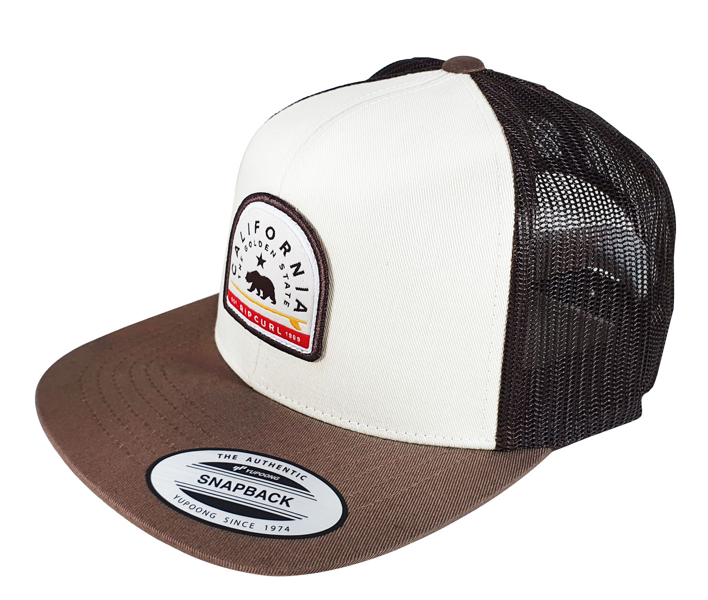 Boné Rip Curl Destinations Trucker Brown