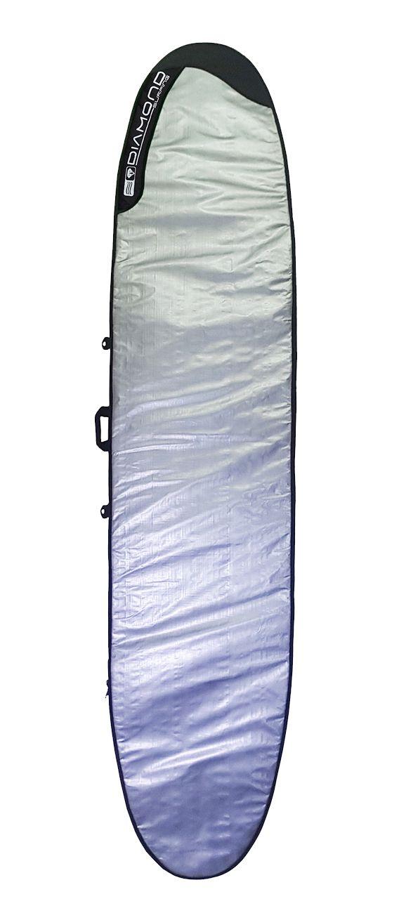 Capa Prancha de Surf Long Board Clássico Diamond Surfing