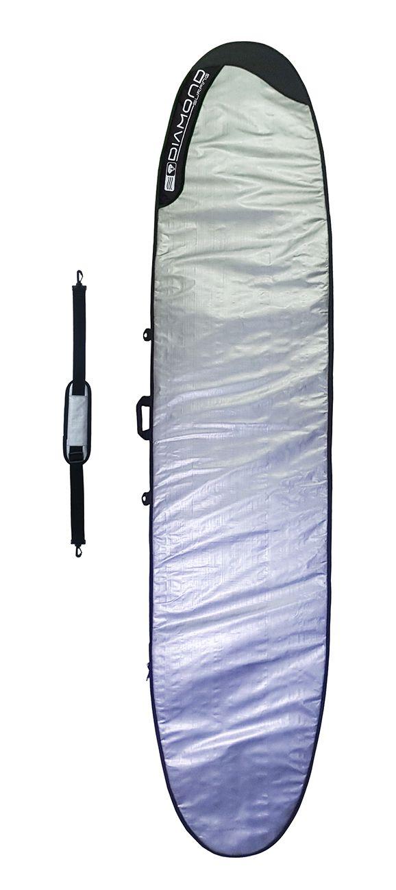 Capa Prancha de Surf Long Board Diamond Surfing
