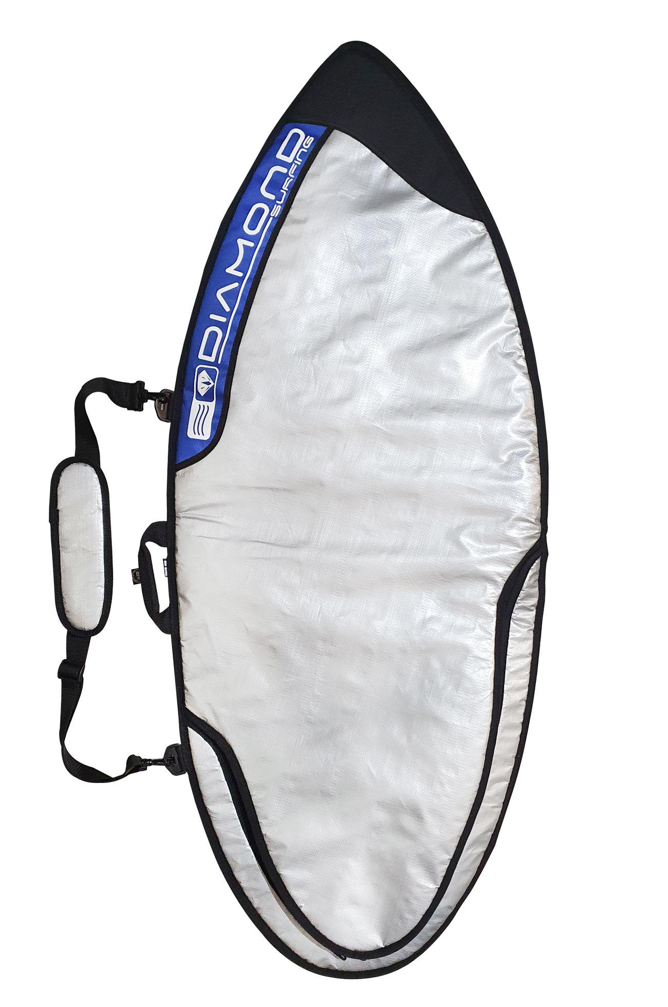 Capa Para Skimboard Reforçada 120x52cm  6mm Diamond Surfing