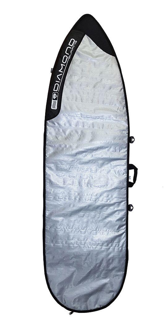 Capa Prancha De Surf Shortboard Diamond Surfing