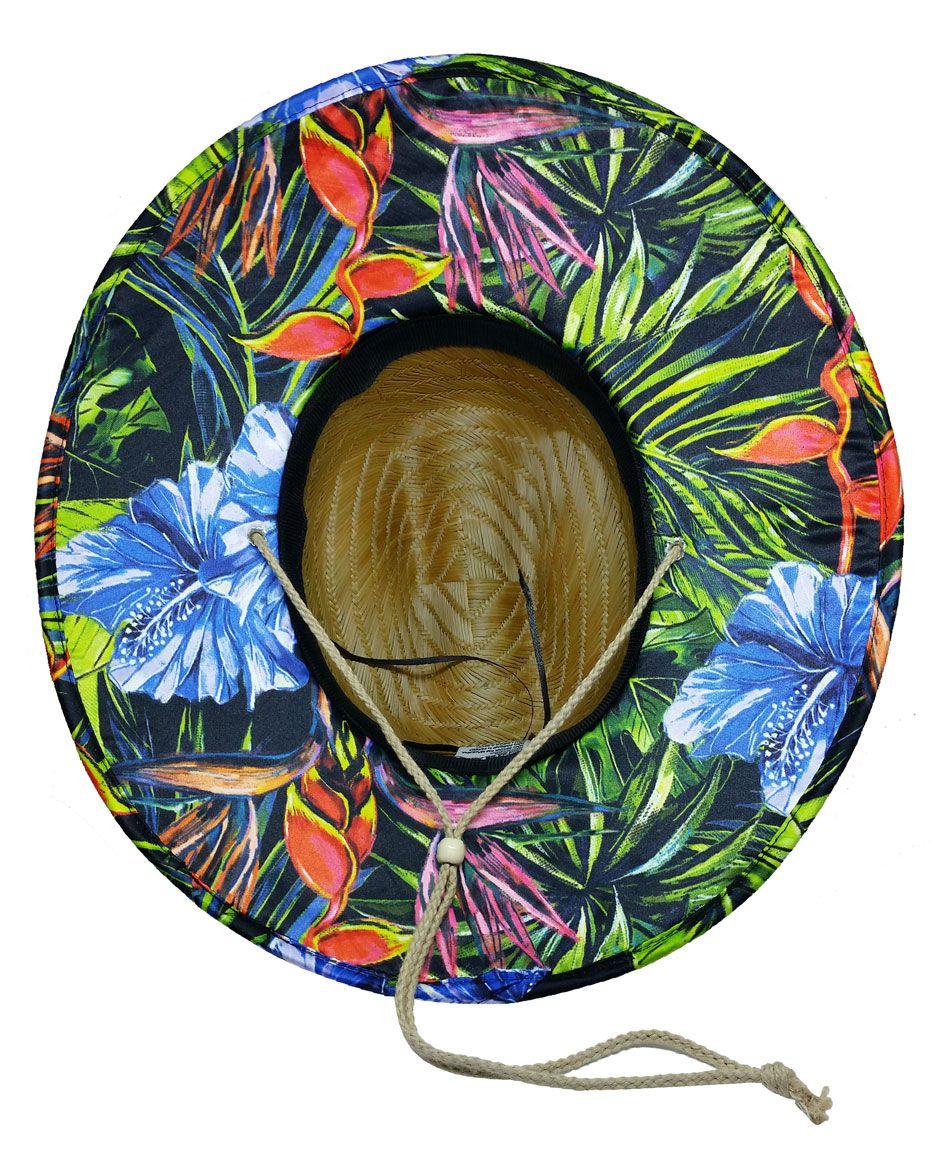 Chapéu de Palha Diamond Surfing - Floral