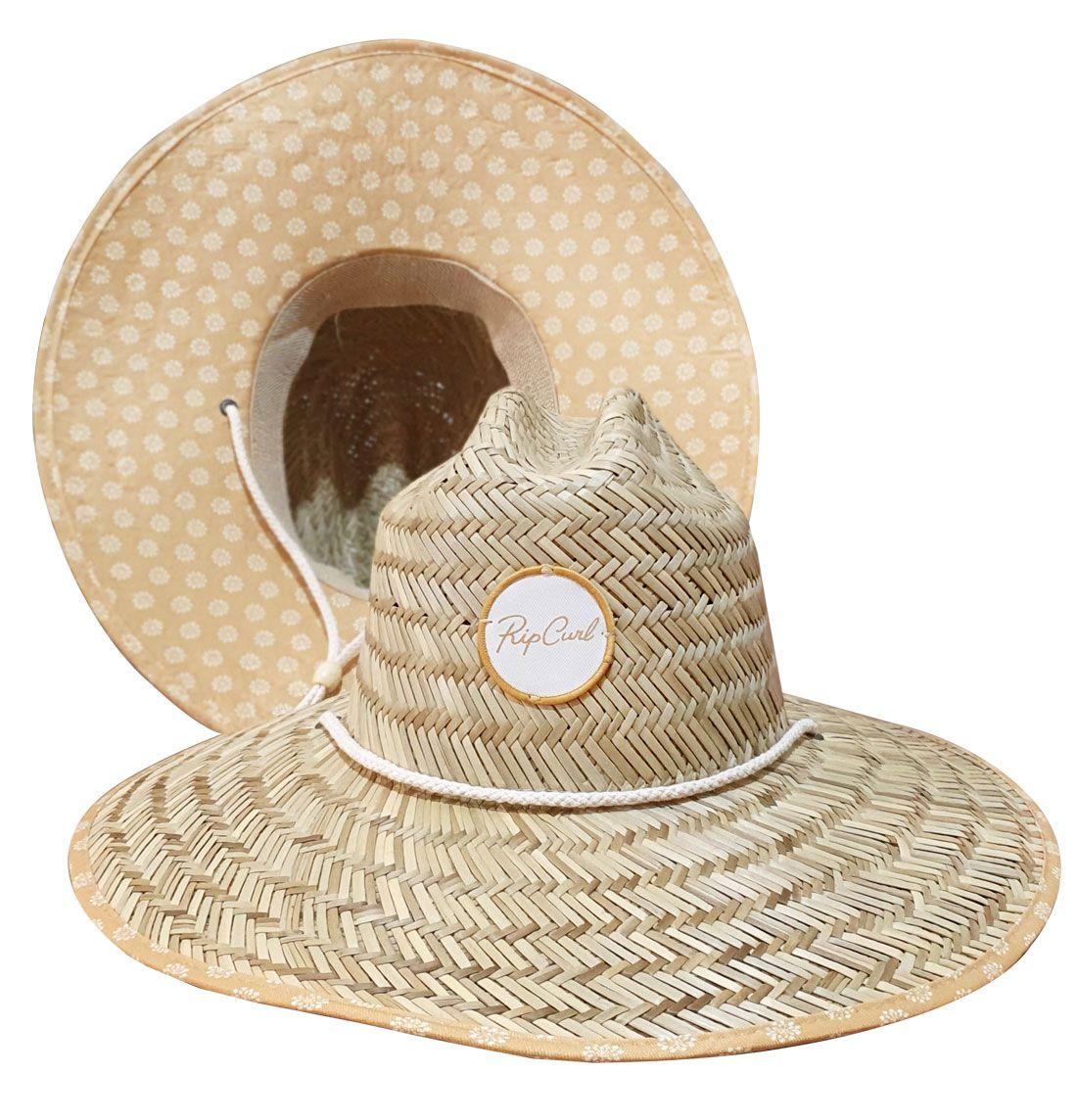 Chapéu de Palha Rip Curl Feminino Coastal Tide