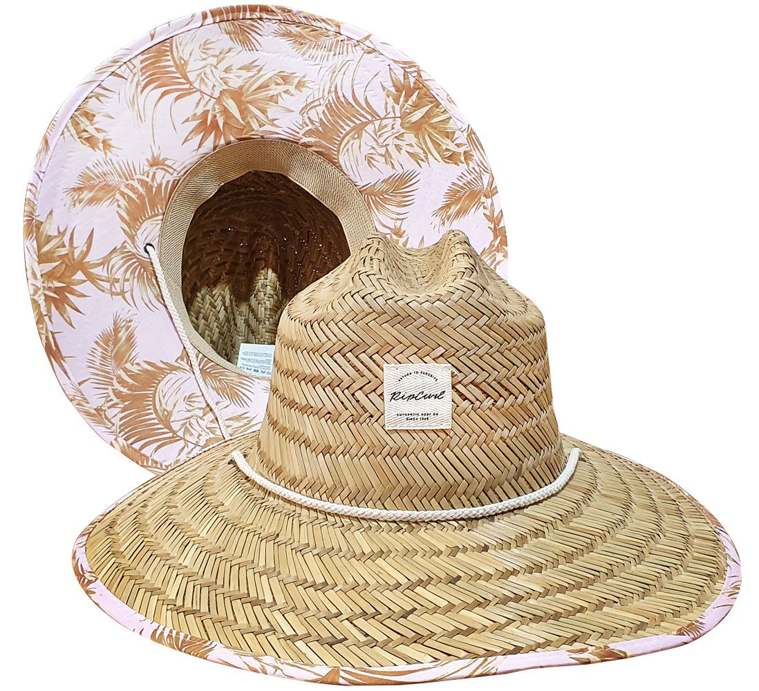 Chapéu de Palha Rip Curl Feminino Cove Straw Sun